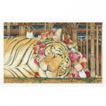 Pintoo-H2146 Plastic Puzzle - Cotton Lion - Goodnight Tiger