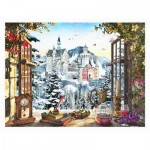 Puzzle  Pintoo-H2201 Dominic Davison - The Fairytale Castle