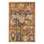 Puzzle  Pintoo-H2240 Cotton Lion - Coon Magic House