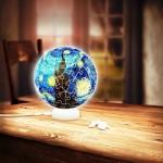 Pintoo-J1013 3D Puzzle - Sphere Light - Van Gogh
