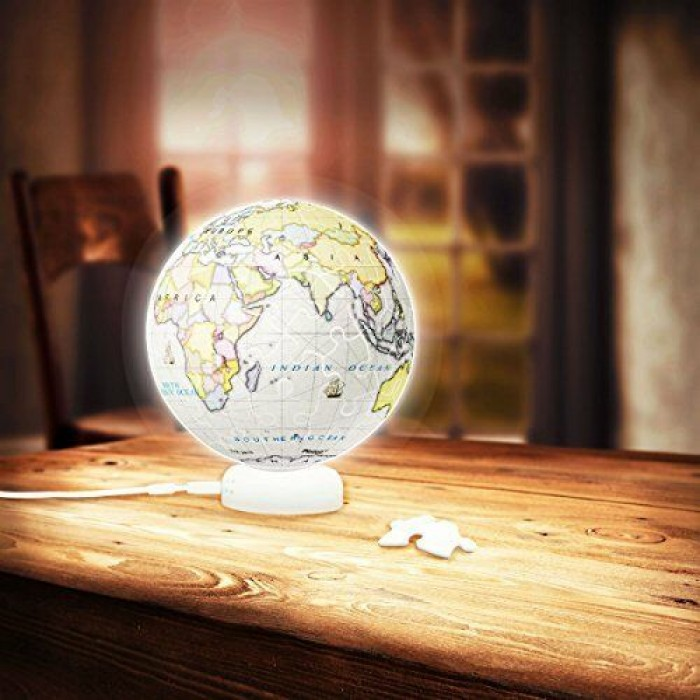 3D Puzzle - Sphere Light - Purple Globe