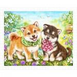 Puzzle   Kayomi - Shiba Puppies' First Errand