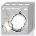 Keychain 3D Puzzle - Baseball