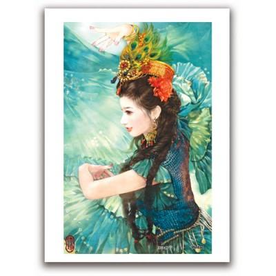 Pintoo-M1086 Plastic Puzzle - Derjen: Woman dancing