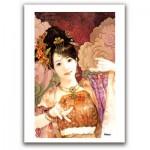 Pintoo-M1088 Plastic Puzzle - Derjen: Woman dancing