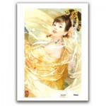 Pintoo-M1090 Plastic Puzzle - Derjen: Woman dancing