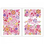 Pintoo-M1218 2 plastic puzzles - Love birds