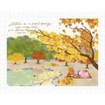 Puzzle   Mandie - Autumn Picnic Under The Maple