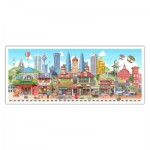 Puzzle  Pintoo-PH1010 Colorful Malaysia