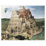 Plastic Puzzle - Brueghel Pieter - Tower of Babel, 1563