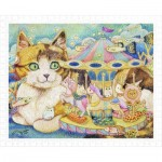 Plastic Puzzle - Cotton Lion - Merry-Go-Round