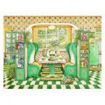 Plastic Puzzle - Janet Kruskamp - Breakfast Nook