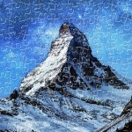 Plastic Puzzle - Light of Zermatt, Switzerland