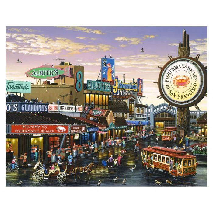 Plastic Puzzle - San Francisco 2000pieces
