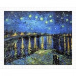 Plastic Puzzle - Vincent Van Gogh - Starry Night Over The Rhone, 1888