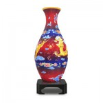 Pintoo-S1002 3D Vase Puzzle - The Dragon and the Phoenix