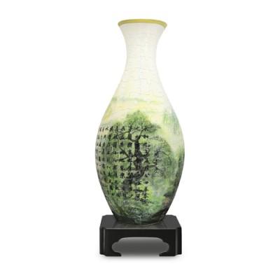 Pintoo-S1005 3D Vase Puzzle- Lan Ting Xu
