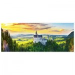 Puzzle   Sunset of Neuschwanstein Castle, Germany