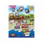 Pintoo-T1008 Plastic Puzzle - Animal Kingdom
