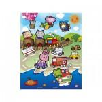 Pintoo-T1008 Plastic Puzzle - Animal Kingdom
