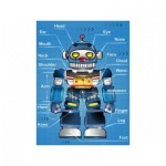 Pintoo-T1010 Plastic Puzzle - Robot