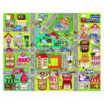 Pintoo-T1015 Plastic Puzzle - Cute Street Map