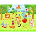Pintoo-T1017 Plastic Puzzle - Circus in the Forest