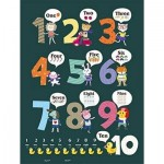 Pintoo-T1025 Plastic Puzzle - Learning To Count