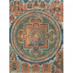 Puzzle  Pomegranate-AA257 Mandala the goddess to the glorious white umbrella
