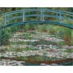 Puzzle  Pomegranate-AA380 Claude Monet: The Japanese Bridge