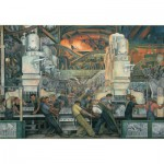Puzzle  Pomegranate-AA421 Diego Rivera: the industry of Detroit