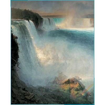Puzzle Pomegranate-AA552 Frederic Edwin Church : Niagara