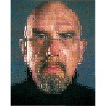 Puzzle  Pomegranate-AA673 Chuck Close - self-portrait
