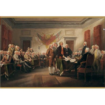 Puzzle Pomegranate-AA676 John Trumbull: The Declaration of Independence, July 4, 1776