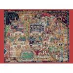 Puzzle  Pomegranate-AA730 Edward Bawden and Thomas Derrick: British Empire Exhibition 1924 (British colonial exhibition)