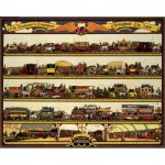 Puzzle  Pomegranate-AA735 Richard T. Cooper: The Londoner transports through the ages
