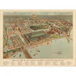 Puzzle  Pomegranate-AA740 Aerial View of the Universal Exhibition, Chicago, 1893.