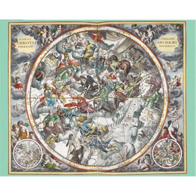 Puzzle Pomegranate-AA806 Andreas Cellarius: Map of Heaven