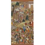 Puzzle  Pomegranate-AA816 Surdas Gujarati : Babur Setting Out from Kabul