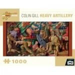 Puzzle  Pomegranate-AA843 Colin Gill - Heavy Artillery, 1919