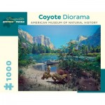 Puzzle   Coyote Diorama - American Museum of Natural History