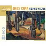 Puzzle   Emily Carr - Kispiax Village, 1929