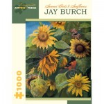 Puzzle   Jay Burch - Summer Birds and Sunflowers, 2011