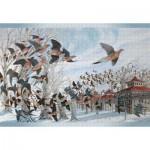 Puzzle   John A. Ruthven - The Last Passenger Pigeon