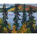 Puzzle   Lawren S. Harris - Montreal River