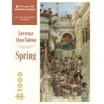 Puzzle   Lawrence Alma-Tadema - Spring