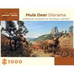 Puzzle   Mule Deer Diorama - American Museum of Natural History
