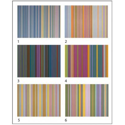 Puzzle Pomegranate-PB004 Gene Davis - 12 cubes to six artworks
