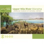 Puzzle   Upper Nile River Diorama - 150 Miles Southwest of Lake No, South Sudan