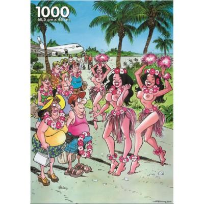PuzzelMan-005 Jigsaw Puzzle - 1000 Pieces - Hawaii